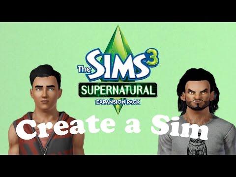 The Sims 3 Supernatural: Create a Sim - Werewolf