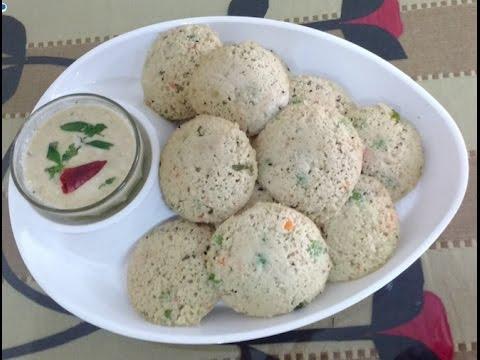 Oats Rava Healthy Idli | Steamed Idli | Easy Idli Recipe |  रवा इडली बनाने की रेसिपी