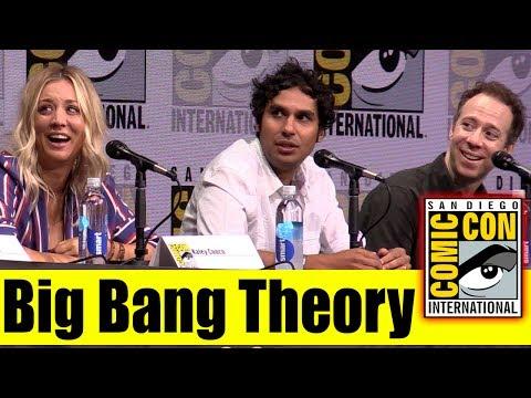 BIG BANG THEORY | Comic Con 2017 Full Panel (Kaley Cuoco, Johnny Galecki, Kunal Nayyar)