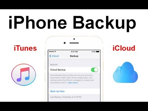 How to Back Up iPhone and ipad Data to iTunes or, you computer