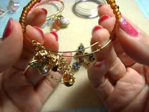 BUtton Dangles & adjustable bracelet tutorial