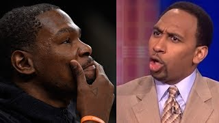 "Kevin Durant BLASTED by Stephen A Smith: ""He"