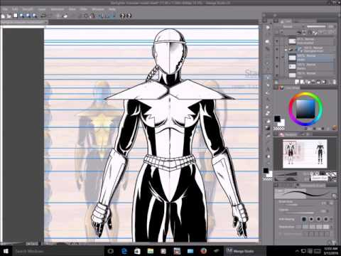 Character Model Sheet Tutorial by millenniumman001