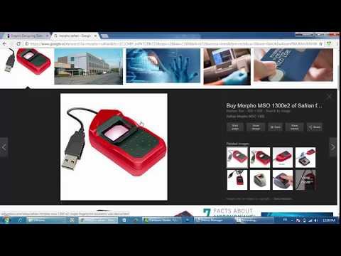 Solved: Installing Sagem MorphoSmart 1300/1350 e2 Biometric Device in Windows - Hindi video