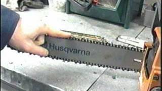 How To Hand Sharpen A Chainsaw Chain