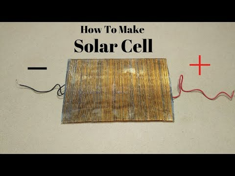 Xxx Mp4 How To Make SOLAR CELL At Home How To Make Solar Cell With Gold Wire Free ENERGY Solar Cell 3gp Sex