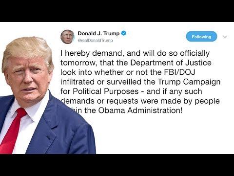 Drain The Swamp! Trump Tightens Down On Possible FBI/DOJ Corruption