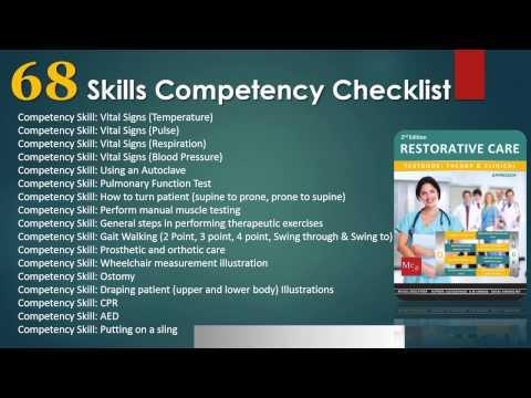 Restorative Nursing Assistant Training & Textbook