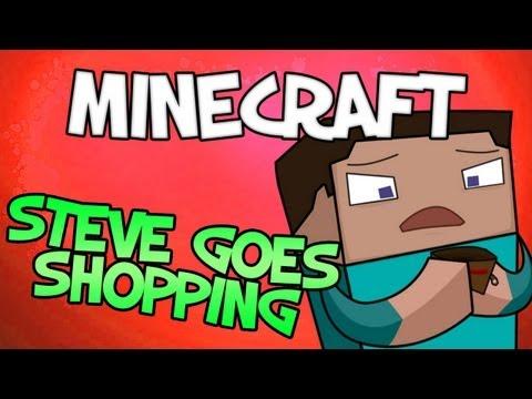 Steve Goes Shopping (Minecraft Machinima)