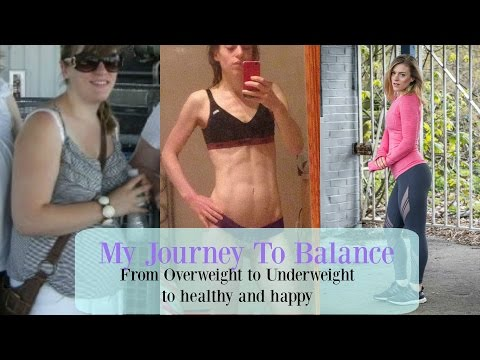 My journey to Balance    Overweight teen, to underweight student, to healthy & happy!
