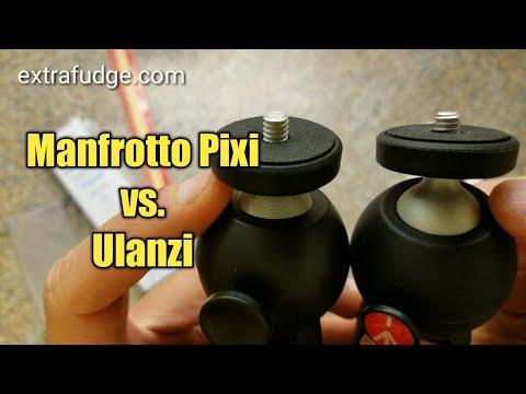 Manfrotto Pixi vs. Ulanzi Mini Tripod Comparison