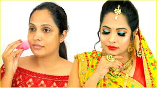 Dulhan Style Indian Makeup - Step By Step Tutorial For Beginners | #ShrutiArjunAnand