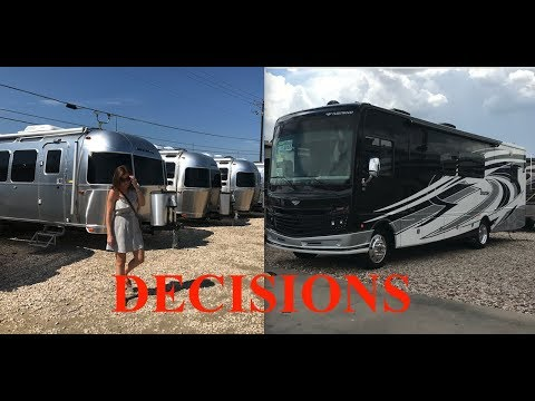 Living in an Airstream - Journal #6 - Class A Or Airstream Making a Decision - S2E27