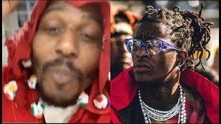 Young Thug Say Its On Sight For Sauce Walka, Walka Says A Man With A Dress Cant Put A Hit Out On Him