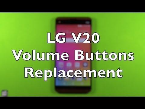 LG V20 Volume Buttons Flex Replacement Repair How To Change