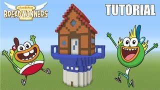 "Minecraft Tutorial: How To Make ""The Breadwinners"" House! ""Breadwinners"" (Survival House)"