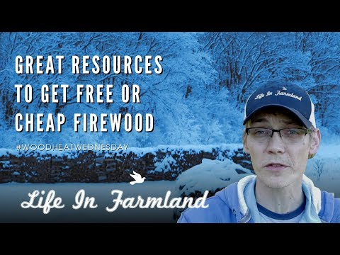 Tips On Getting Free Or Cheap Firewood - Wood Heat Wednesday - EP: 4