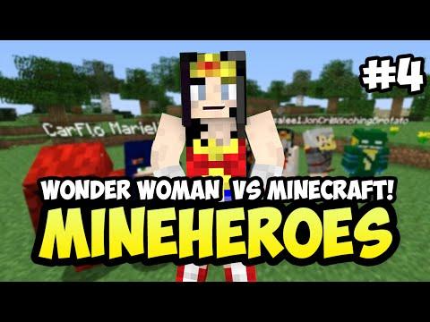 MineHeros: Wonder Woman vs MC Challenges