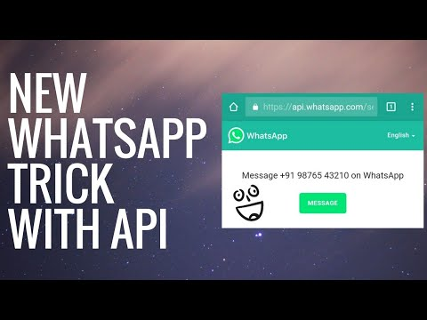New WhatsApp Trick - Send Messages From Any Website