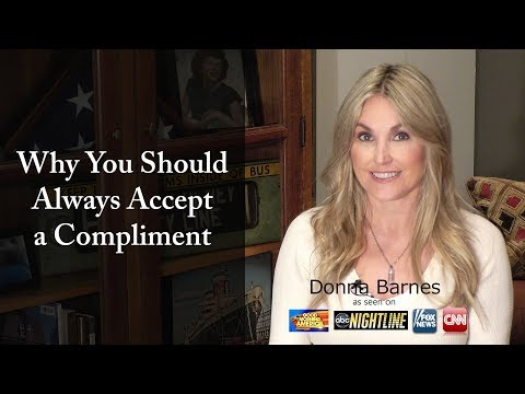 Why You Should Always Accept a Compliment
