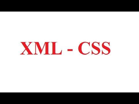 How to Display XML in Color format using CSS