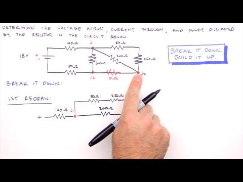 How to Solve Any Series and Parallel Circuit Problem