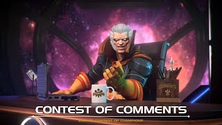 Contest of Comments | Marvel Contest of Champions