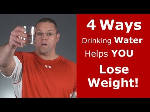 4 Ways Drinking Water Helps You Lose Weight!