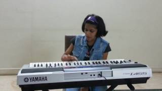 Ruchi performing the marathi song