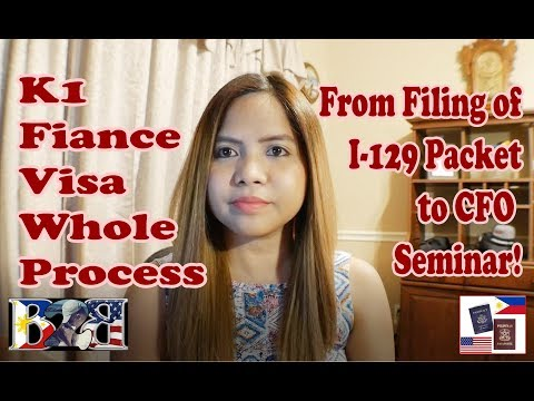 K1 Fiance Visa Whole Process Step by Step Explanation!