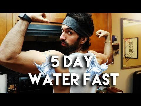 5 Day Water Fast Results! (12lbs Weight Loss)