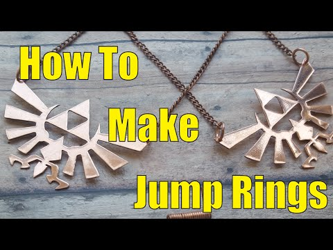 How To Make Jump Rings From Wire