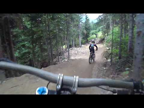 Blueberry Bathtub - Whistler Bike Park