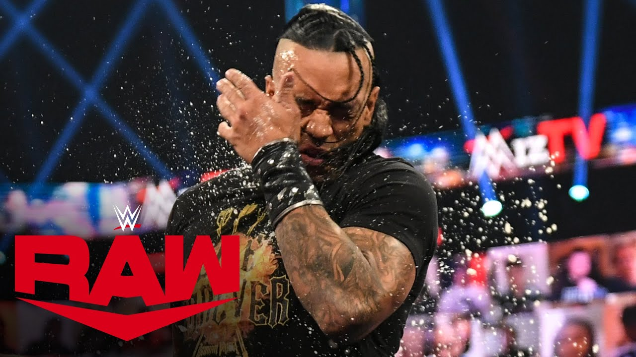 "Damian Priest crashes The Miz & Maryse's celebratory ""Miz TV"": Raw, April 19, 2021"