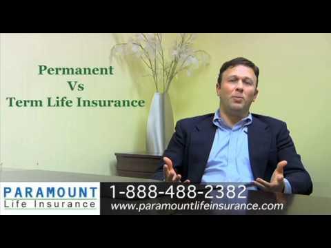 Term Life Insurance Vs. Permanent Whole Life Insurance Quotes