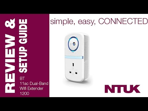 BT 11ac Dual-Band WiFi Extender 1200 {Review, Setup Guide & Test}