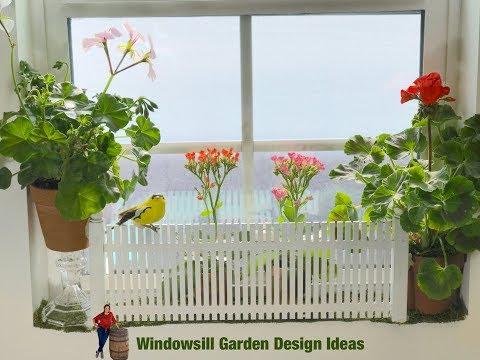Creative Windowsill Garden Design Ideas!