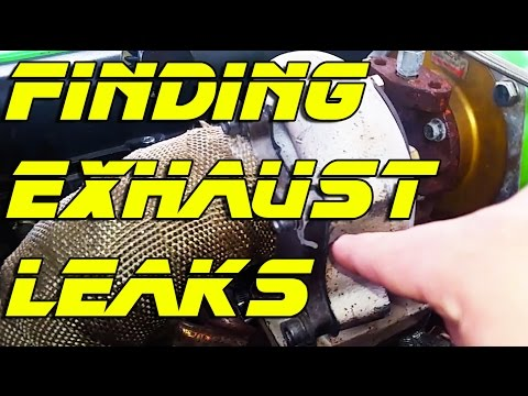 Find an Exhaust Leak with SeaFoam