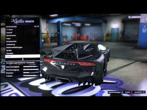 GTA 5 Online - Custom Car Builds - Batmobile v2