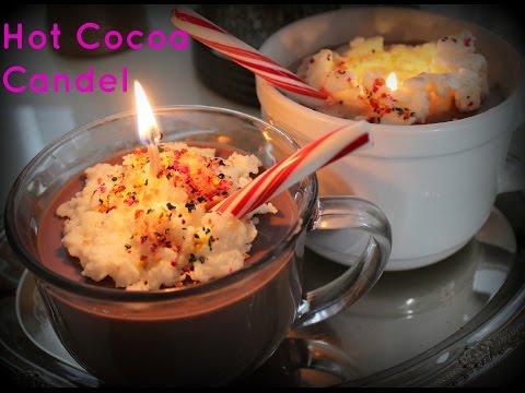 DIY Hot Cocoa candle!