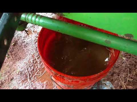 John Deere 2155 tractor radiator flush