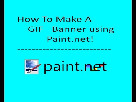 How To Make A GIF Banner! FREE And Easy! |No After Effects needed!|
