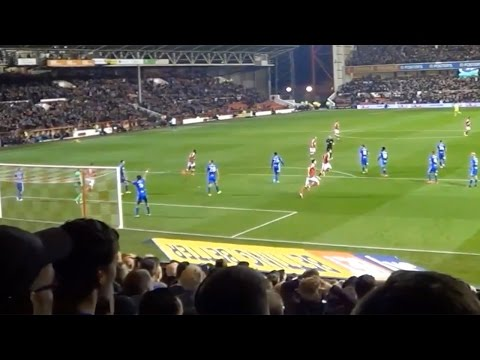 Birmingham fans at Nottingham Forest | Davo's Diary