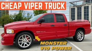 I Bought The CHEAPEST Dodge Ram SRT-10 In The COUNTRY *VIPER TRUCK*