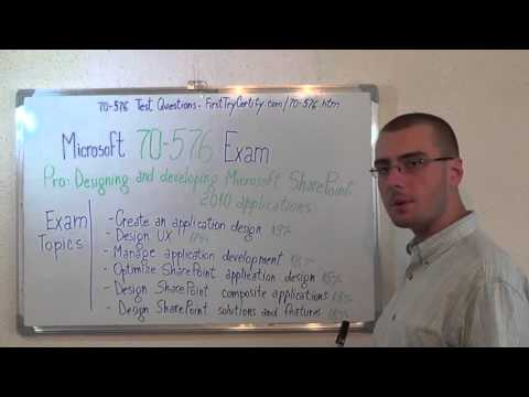 70-576 – Designing Exam Microsoft SharePoint 2010 Test Applications Questions