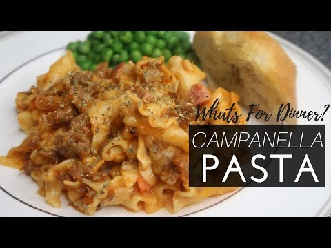 Pasta Recipes | Quick and Easy Campanelle Pasta