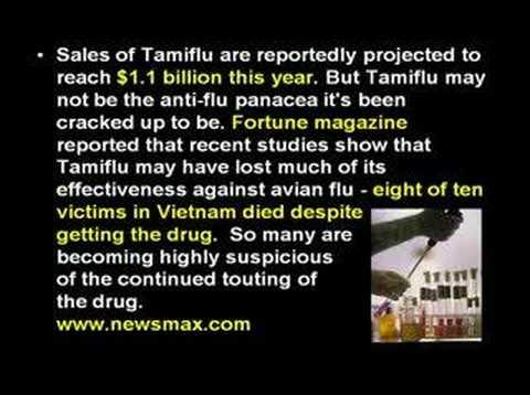Avian Flu Tamiflu Worthless For Avian Bird Flu Part 5
