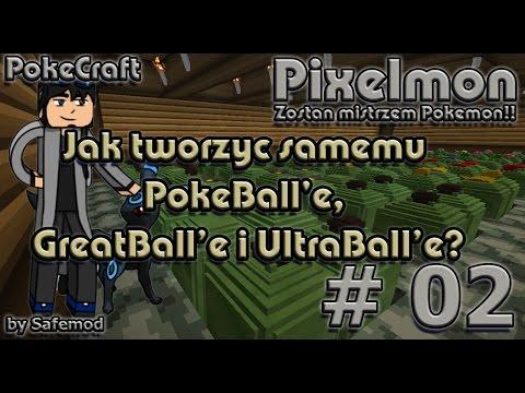 Pixelmon PL - #02 - Jak tworzyć samemu PokeBall'e, GreatBalle i UltraBalle?