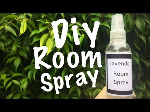 Diy Natural Room Spray (only 2 ingredients) Lavender Room Spray (Air Freshener)