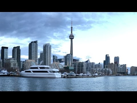 Most Beautiful View Of Toronto Waterfront ( Toronto Timelapse )